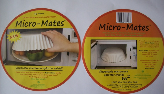 No More Splatters In Your Microwave Cleaning Safer Than Plastic